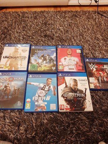 Gry na PS4 wymiana + gry w opisie