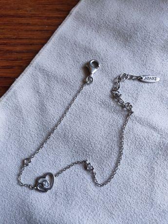 Bransoletka srebrna APART + pudełko ozdobne
