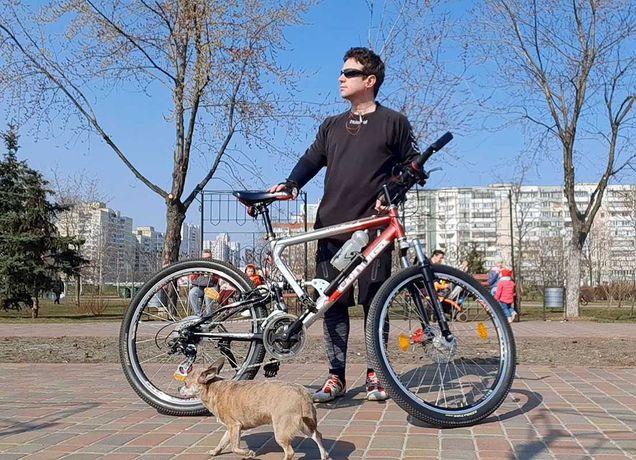 Немецкий велосипед двухподвес Canoga 26 алюминий
