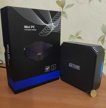 Мини Компьютер ArtLine/i5-7200U 2.5-3.1/16Gb DDR4/480SSD/HD620/Гаранти