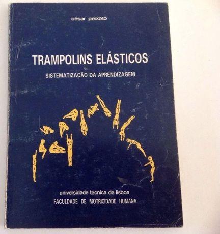 """Livro Técnico """"Trampolins Elasticos"""" -c/o Novo"""