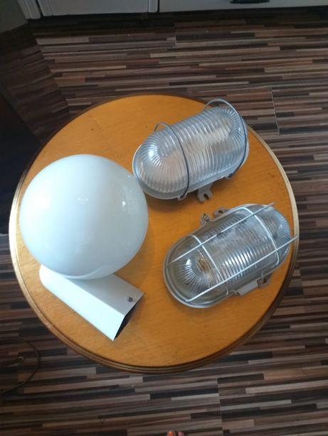 Trzy fajne lampy zewnętrzne