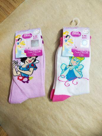Носки принцессы Disney оригинал Белоснежка Золушка