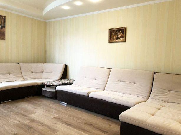 3-кімнатна новобудова, ремонт + меблі/техніка