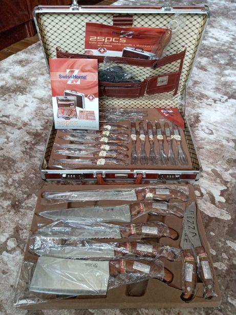 Набір ножів Swiss Home 25 предметів. (Новий, ОРИГІНАЛ!!)
