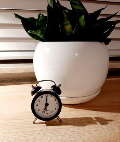Zegarek budzik RISO czarny