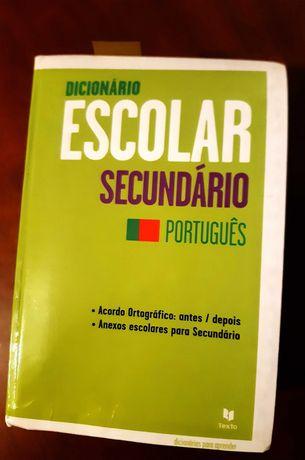 Dicionário Secundário Português