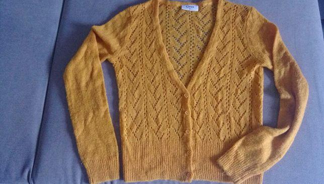 Sweterek musztardowy