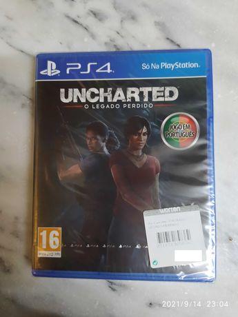 Uncharted The Lost Legacy (Legado Perdido) PS4 Novo Selado Vendo Troco