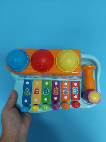 Розвиваюча іграшка ксилофон
