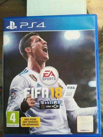Jogo PS4 FIFA 2018 ok