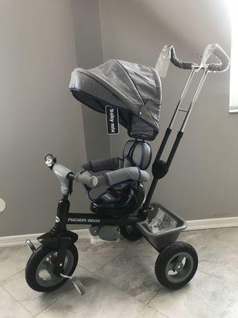Rower dziecięcy baby mix Nowy Rider Mix szary