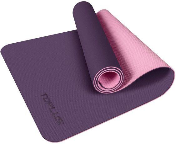 ZESTAW Fitness TOPLUS Yoga klasyczna mata do jogi +równoważnia