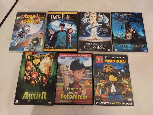 Zestaw filmów DVD dla dzieci