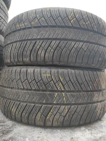 255.45.19 Michelin PA4 2шт зима БУ склад шины резина из Европы