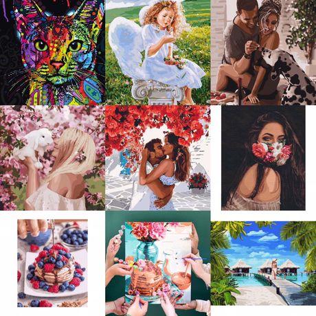 Картины по номерам идейка brushme брашми rainbow art