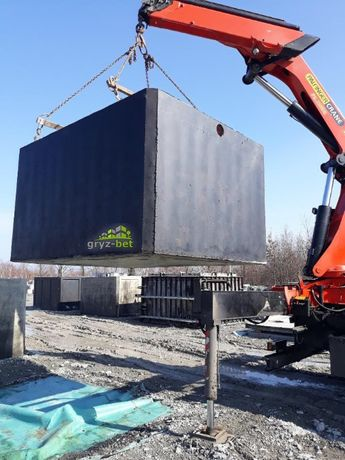 szambo 5m3 szamba betonowe zbiorniki szczelne sętki kij krzywda adamów