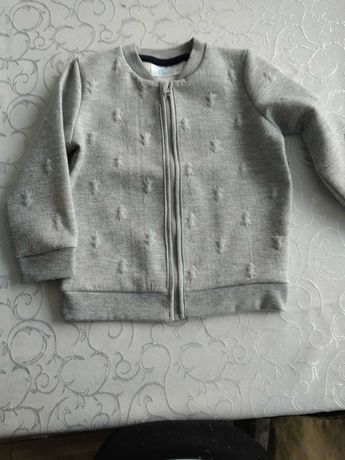 Elegancki sweter na suwak dla chłopca