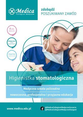 Higienistka stomatologiczna - zdobądź zawód medyczny!