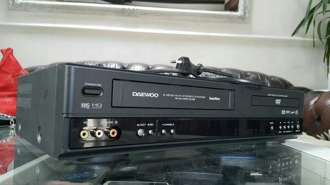 Kombo DVD + Magnetowid VHS Daewoo
