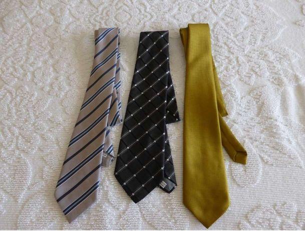 Conjunto de 3 gravatas