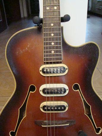 gitara elektryczna 6 strunowa defil prawie zabytek
