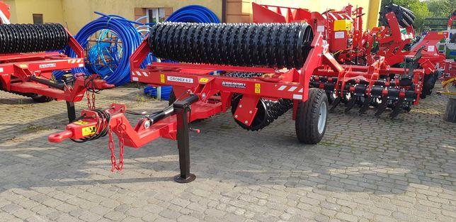 OD RĘKI !!! Wał Cambridge 6,3m 530mm posiewny Agro-Factory GROMIX 5,2