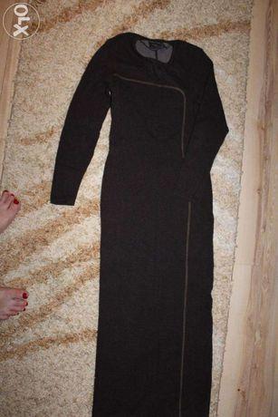 Женское платье длинное