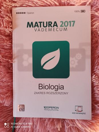 Operon matura Biologia 2017 Vademecum