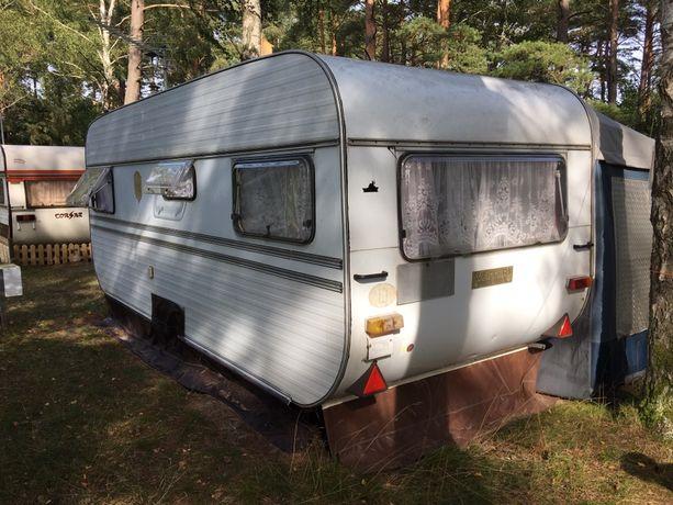 Przyczepa kempingowa Weippert 520S Luxus z namiotem