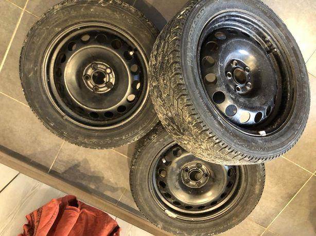 Продам колеса з дисками r16 205 55