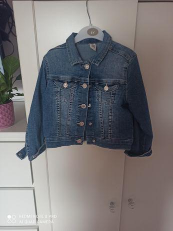 Kurtka jeans hm , wiosna