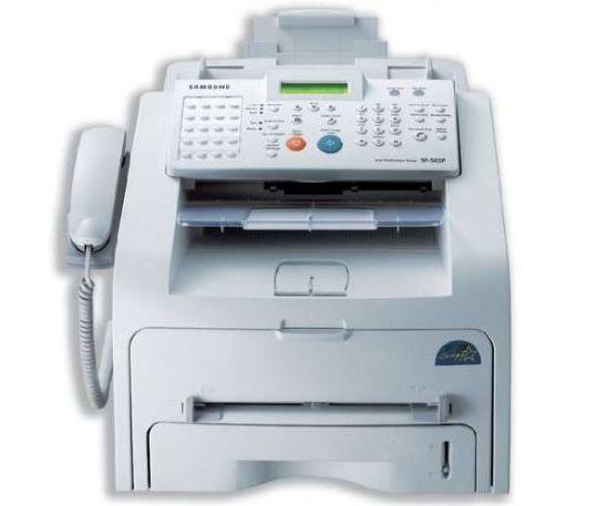 Tel/Fax e Copiador Laser SAMSUNG SF-560R - Multifunções