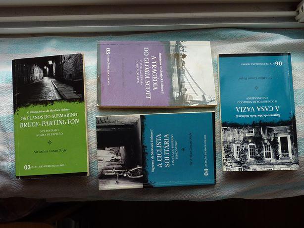 8 Livros de Sherlock Holmes