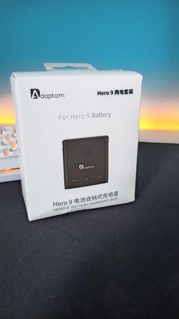 Stacja dokująca + 2 Baterie firmy Adaptom do kamery GoPro 9