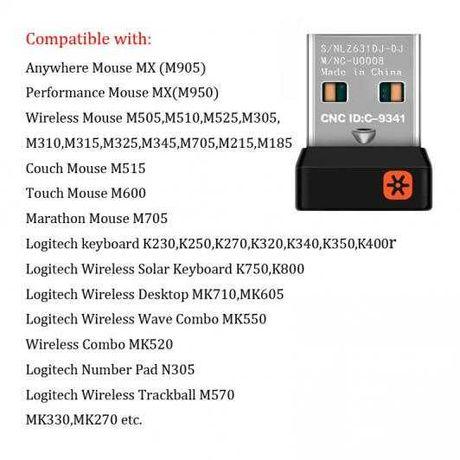 USB-адаптер Logitech Unifying Receiver