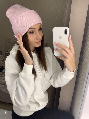 Женская новая шапка, шапочка, лопата, с люрексом, хит сезона zara