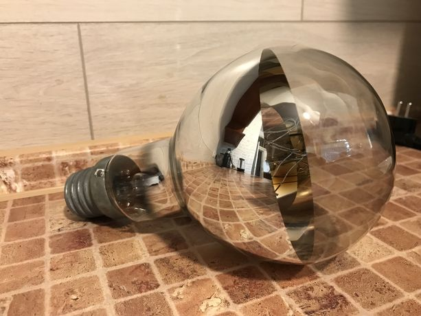 Лампа зеркальная 500 ват и плафон 2000 ват