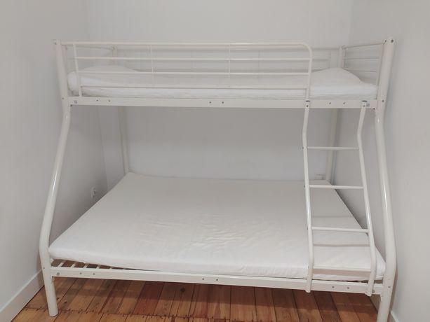 Łóżko  piętrowe, mocne z dostawą za darmo !!!