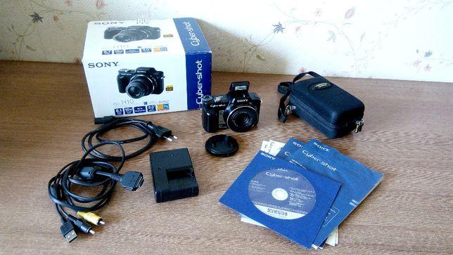 Цифровой фотоаппарат Sony Cyber-shot DSC-H10 + Футляр