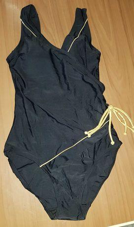 Jednoczęściowy czarny strój kąpielowy 38 M Bon Prix