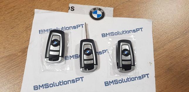 Chave BMW E60 E61 E62 E63 Ponta e Mola