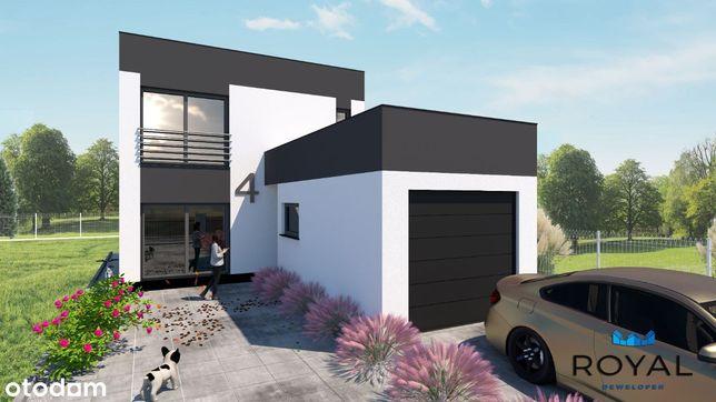 Dom wolnostojący super projekt 4 pokoje !