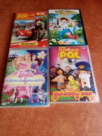 Płyty z bajkami na DVD