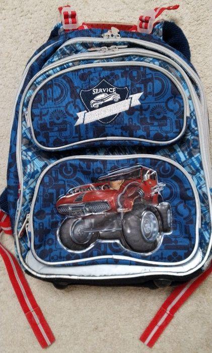 Plecak szkolny TOPGAL Monster Truck Auto - używany