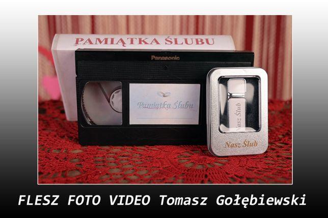 Flesz - Przegrywanie kaset VHS na DVD, pendriva