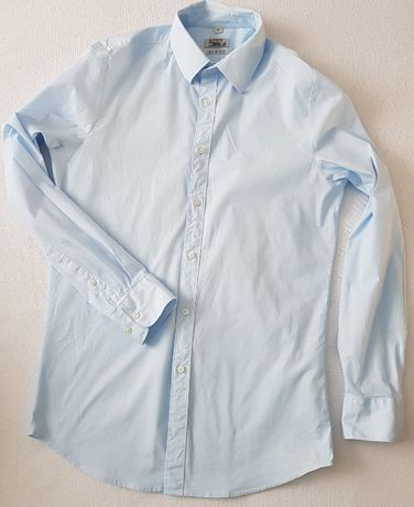 Koszula Błękitna slim fit 40