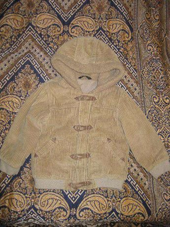 куртка тёплая весна-осень 2-3 года