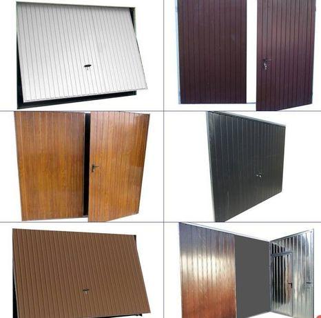 Brama garażowa Drzwi Bramy garażowe NA WYMIAR uchylne i dwuskrzydłowe