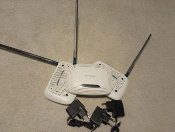 Роутер TP-Link WR743ND с антенной ANT24-0700 7dbi